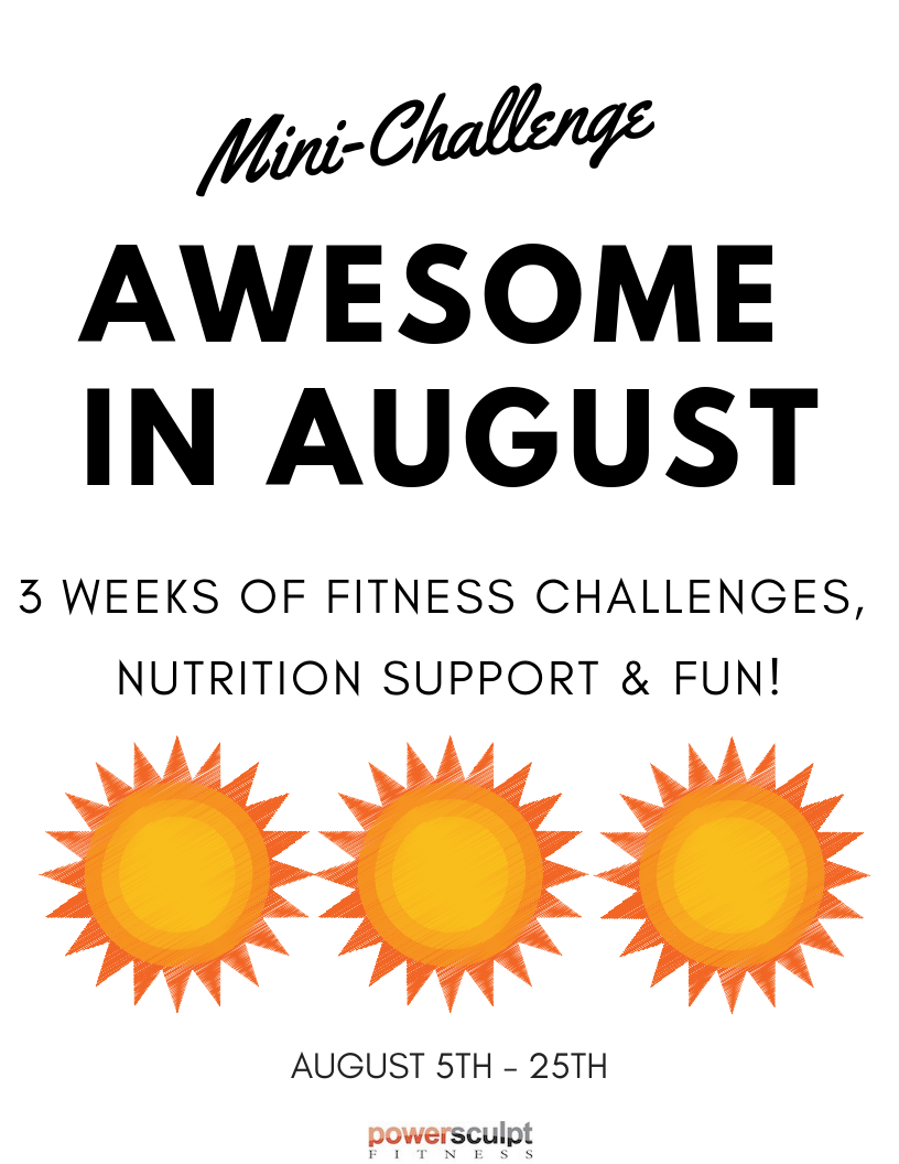 Awesome in August Sign